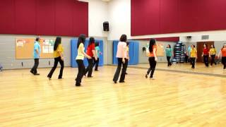 getlinkyoutube.com-What About Tonight - Line Dance (Dance & Teach in English & 中文)