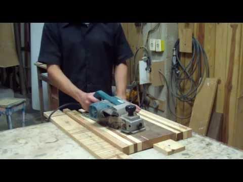 Como usar plaina elétrica parte 2