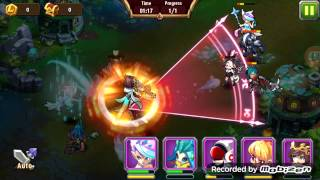 getlinkyoutube.com-Magic Rush: Heroes Crusade run