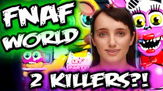 FNAF WORLD SECRETS & MYSTERIES w/ Cleverbot EVIE | 2 KILLERS? | Five Nights at Freddy's World Secret