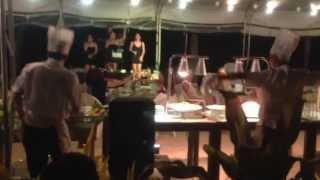 getlinkyoutube.com-Dancing chef @ regency hotel boracay. Vacation/Post bday celebration. Very crazy funny strange moves