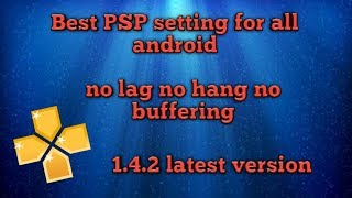 Best PSP setting for all Android (Tamil)