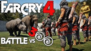 getlinkyoutube.com-Far Cry 4 Battle - Army VS Animals (Epic Moments)