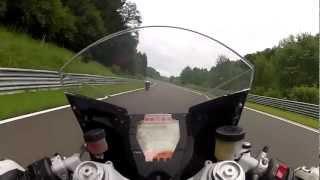 getlinkyoutube.com-KTM RC8 Vs YAMAHA R6 @ Salzburgring