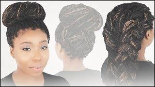 getlinkyoutube.com-3 Hairstyles For Mrs Rutters Perimeter Crochet Senegalese Twist Tutorial Part 6 of 7