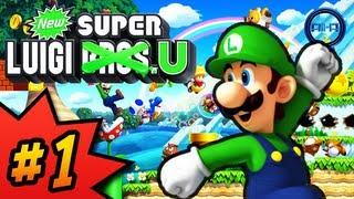 getlinkyoutube.com-Ali-A Plays - New Super Luigi U // Walkthrough Part 1 World 1! (Nintendo Wii U HD)