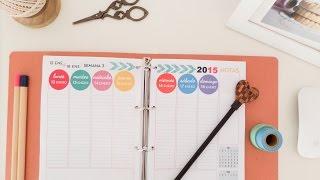 getlinkyoutube.com-Cómo organizar tu agenda. Tips