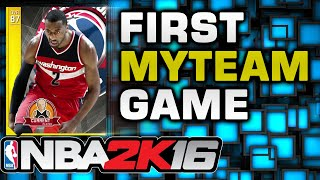 NBA2K16 - First myTeam Challenge