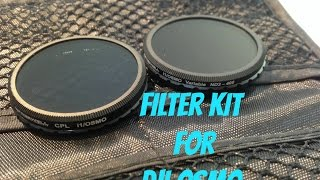 Best VARIABLE/CPL Filter for DJI Osmo  2016