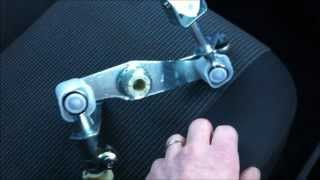 getlinkyoutube.com-How To - Fix Vauxhall / Opel Gear Box Linkage Fault, Repair Replace And Set Up