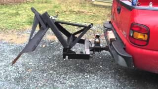 getlinkyoutube.com-Poor Mans Snow Plow Setup