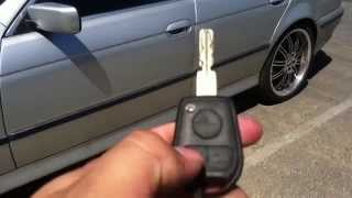 getlinkyoutube.com-How To Roll Down Windows With Key Remote 1997-2000 BMW 5 SERIES E39 528I 525I 530I 540I M5