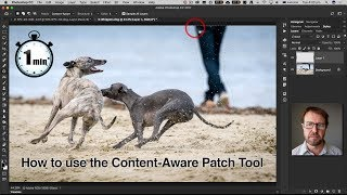 Photoshop: How to use the Content Aware Patch Tool width=