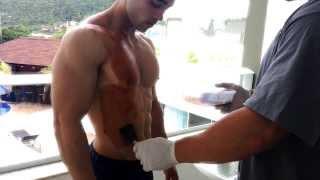 getlinkyoutube.com-ProTan Men's Physique Sul Brasileiro 2013 - Boás Henrique - TEAM Bodybuilding.com