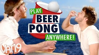 getlinkyoutube.com-Play Beer Pong Anywhere!