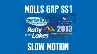Cartell.ie Killarney Rally of the Lakes 2013 - Slow Motion