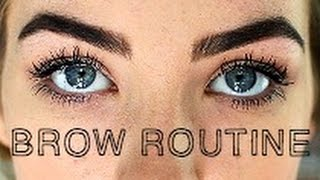 getlinkyoutube.com-My Eyebrow Routine + Giveaway | How to grow your eyebrows