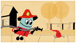 """getlinkyoutube.com-""""Firefighter,"""" Songs about Professions by StoryBots"""