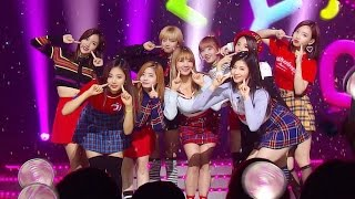 getlinkyoutube.com-《Follow up Song》 TWICE (트와이스) - JELLY JELLY @인기가요 Inkigayo 20161127