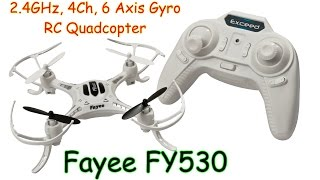 getlinkyoutube.com-Fayee FY530 2.4GHz, 4Ch, 6 Axis Gyro, RC Quadcopter (RTF)