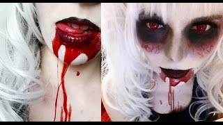 getlinkyoutube.com-DIY - HALLOWEEN - KUNSTBLUT herstellen - VEGAN
