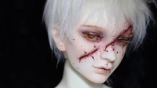 getlinkyoutube.com-BJD Scar Faceup - Switch Soseo _by Light Limner
