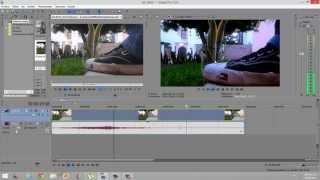 """getlinkyoutube.com-[Sony Vegas] - Como hacer el efecto """"Cinematografico"""""""