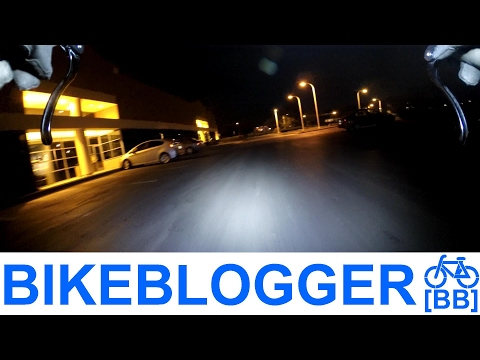 Video Requests Welcome! Night Commute Bike Blogger