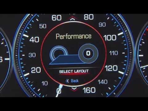 Реконфигурируемая панель приборов для Cadillac Escalade 2015