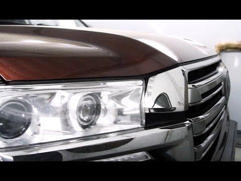 Toyota Land Cruiser 200. Ремонт и покраска заднего бампера.