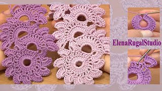 getlinkyoutube.com-Crochet Floral Lace Tutorial 12 Beautiful Crochet Lace Patterns