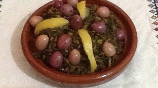 getlinkyoutube.com-وصفة البقولة,الخبيزة المغربية وكيفية الاحتفاظ بها بعد موسمها Bakoula(malva)Marocaine