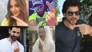 getlinkyoutube.com-BMC Election 2017 - Shahrukh Khan, Rekha, Ranveer Singh, Anushka Sharma, John Abraham,