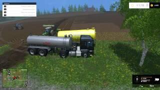 getlinkyoutube.com-Farming Simulator 2015 (MULTI) - Gościnnie u Giezet'a (3/3) - Ogarniamy pola. :D