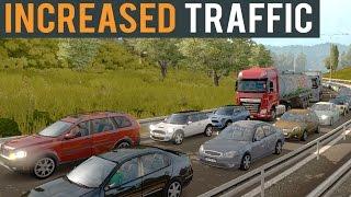 getlinkyoutube.com-Euro Truck Simulator 2 Increased Traffic Beta 1.22
