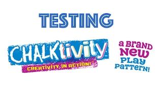 getlinkyoutube.com-Playing With Chalktivity! Testing Chalktivity From International Playthings!