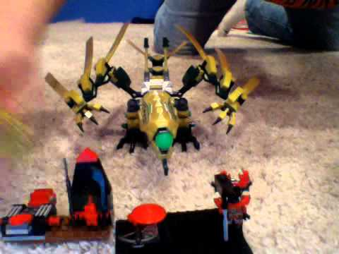 LEGO Ninjago 2013 Set review: 70503: The Golden Dragon