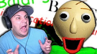 MOST TERRIFYING TEACHER I'VE EVER HAD! | Baldi's Basics in Education and Learning (Horror Game)