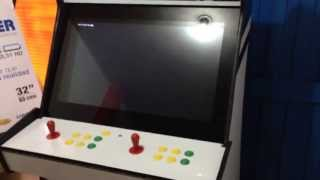 ESPECTACULAR MAQUINA DE VIDEO JUEGOS ARCADE ULTIMO SISTEMA 10 EN 1