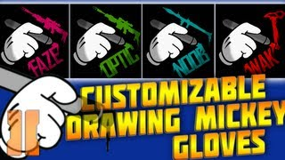 getlinkyoutube.com-Customizable Drawing Mickey Mouse Gloves For Clans & Players - BO2 Emblem Tutorial