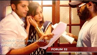 getlinkyoutube.com-Qubool Hai | BTS | Rehearsal for A Scene
