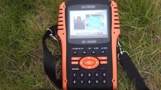getlinkyoutube.com-SATHERO SH-800HD DVB S2 DIGITAL SATELLITE FINDER