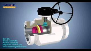getlinkyoutube.com-Side entry and top entry trunnion mounted ball valve   Sam Shu
