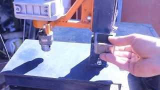 getlinkyoutube.com-Самодельная стойка для дрели своими руками.Часть6.Homemade drill press
