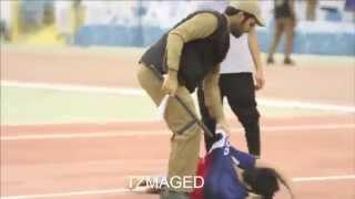 getlinkyoutube.com-ضرب مشجع هلالي في مباراة السد -تصوير كامل