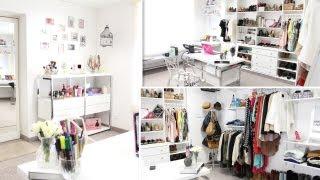 getlinkyoutube.com-Closet/Office Tour ♥