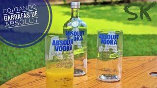 Cortando Garrafas com Resistência Elétrica/How to cut bottles of glass/Bottlecutting