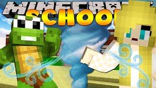 getlinkyoutube.com-Minecraft School - TORNADO HITS THE SCHOOL!