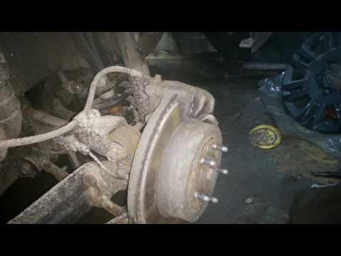 Opel Antara. Не работает ручник!