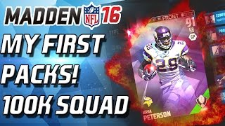 getlinkyoutube.com-Madden 16 Ultimate Team - THE BEGINING! FIRST PACK OPENING!